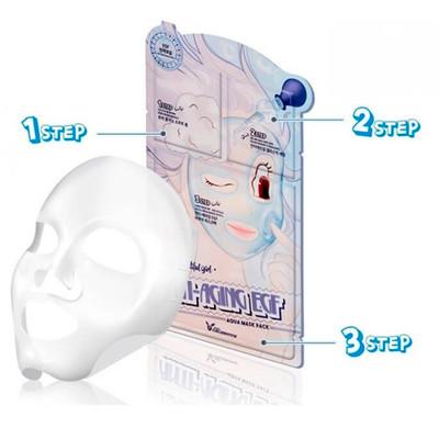 Трехшаговая омолаживающая маска для лица Elizavecca Anti-Aging EGF Aqua Mask Pack