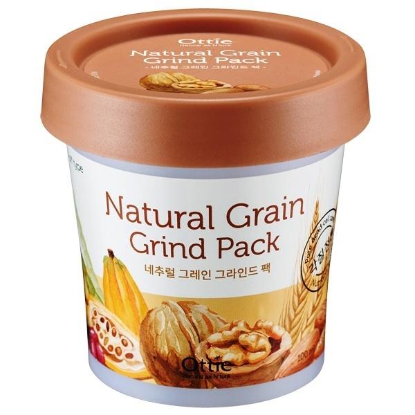 Питательная зерновая маска для сухой кожи Ottie Natural Grain Grind Pack