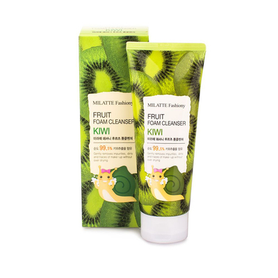 Фруктовая пенка  Milatte Fashiony Fruit Foam Cleanser (киви)