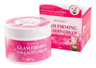 Крем для лица с коллагеном Deoproce Moisture Glam Firming Collagen Cream