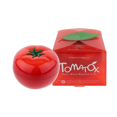 Осветляющая и выводящая токсины маска Tony moly Tomatox magic white massage Pack