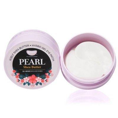 Устраняющие морщины и мешки под глазами гидрогелевые патчи с маслом ши Koelf Pearl Shea Butter Hydro Gel Eye Patch (60 шт)