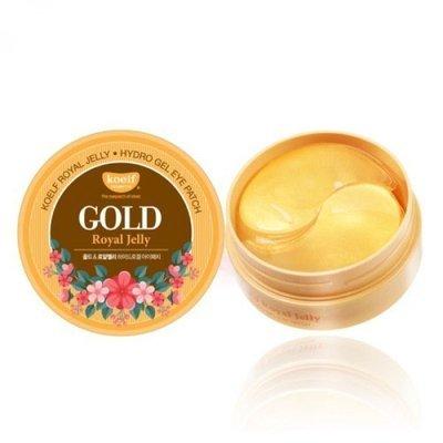 Патчи для глаз с золотом и маточным молочком Petitfee Koelf Gold Royal Jelly Eye Patch(60 шт)