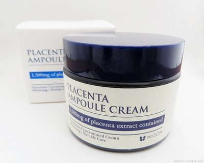 Плацентарный крем Placenta Ampoule Mizon