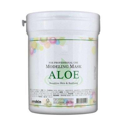 Маска альгинатная с экстрактом алоэ успокаивающая Anskin Aloe Modeling Mask