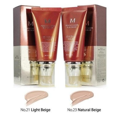 BB крем Missha M Perfect Cover BB Cream SPF 42 PA+++ №13 (50 мл)