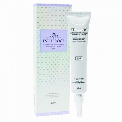 Омолаживающий крем с EGF для кожи вокруг глаз Estheroce Whitening Anti-Wrinkle Power Eye Cream (40 мл)