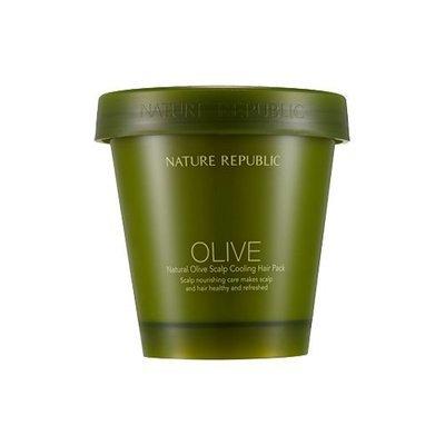 Маска для волос Nature Republic Natural Olive Scalp Cooling Hair Pack с оливковым маслом