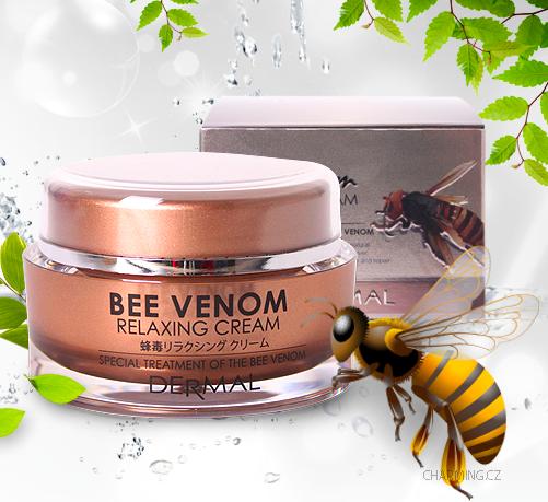 Крем коллагеновый с пчелиным ядом Dermal Bee Venom Relaxing Cream