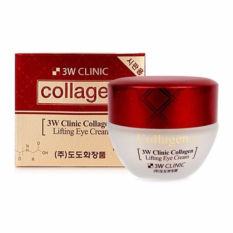 Крем для век с коллагеном Collagen Lifting Eye Cream от 3W Clinic