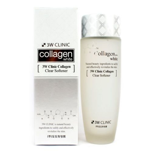 Софтнер/тонер 3W CLINIC Collagen Clear Softener 150 мл