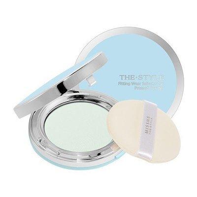 Пудра матирующая Missha The Style Fitting Wear Sebum Cut Pressed Powder №1 (Clear Mint)