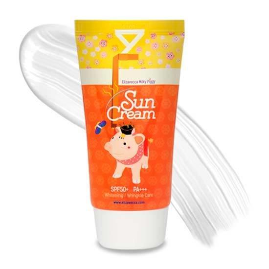 Солнцезащитный крем с коллагеном Elizavecca Milky Piggy Sun Cream SPF50+