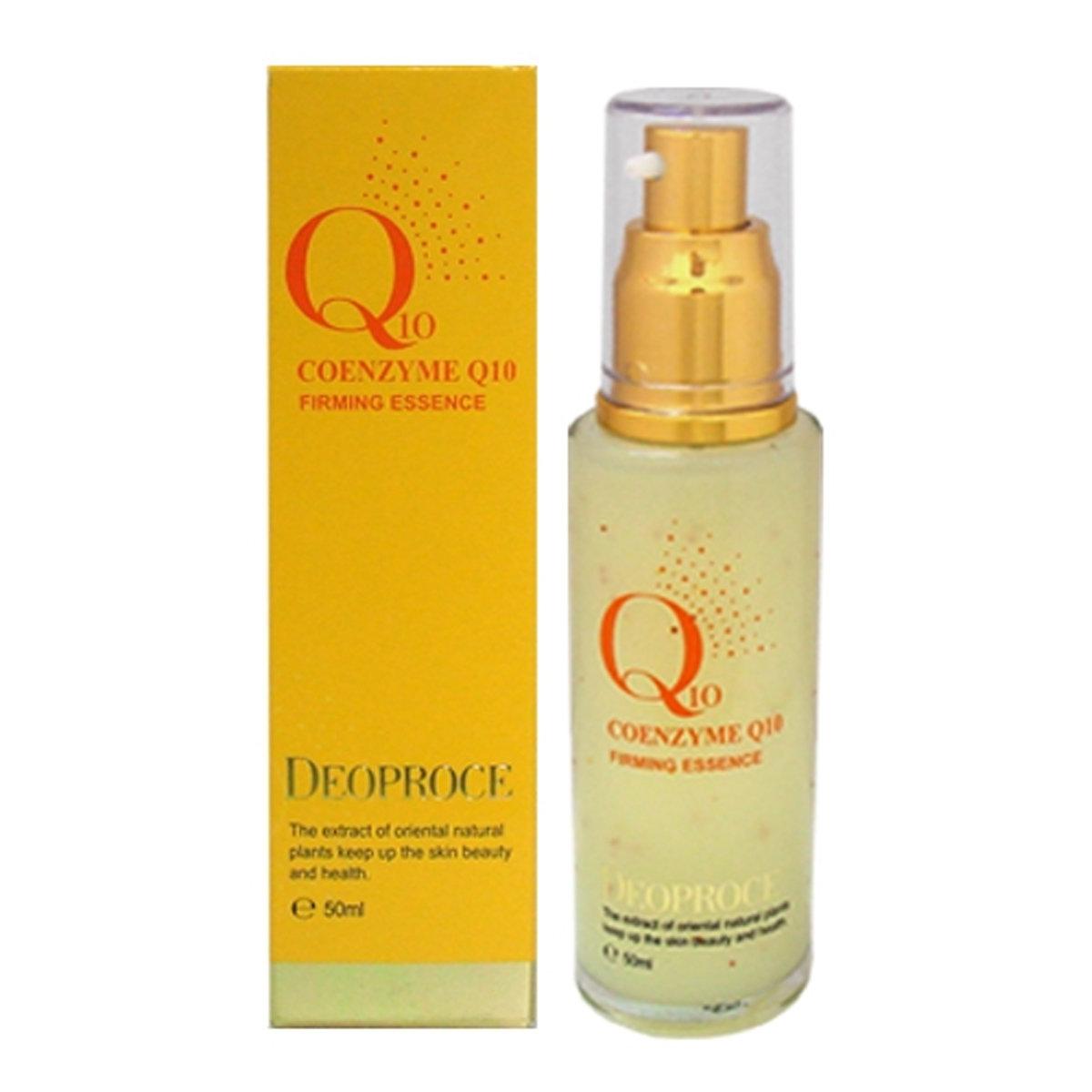 Укрепляющая, противовоспалительная сыворотка с Коэнзимом Q10 Deoproce Coenzyme Q10 firming essence