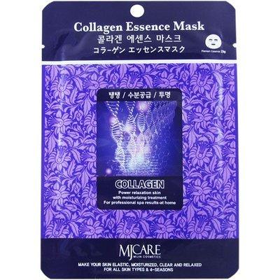 Маска тканевая коллаген Mijin Collagen Essence Mask 23гр