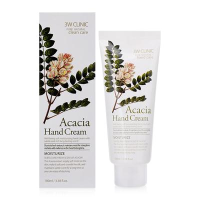Крем для рук 3W Clinic Moisturizing Hand Cream Acacia с экстрактом акации 100 мл
