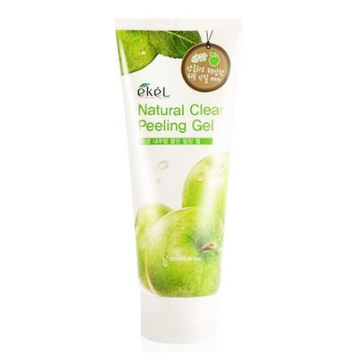Натуральная пилинг-скатка с экстрактом зеленого яблока Ekel Apple Natural Clean Peeling Gel