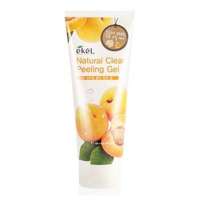 Натуральная пилинг-скатка с экстрактом спелого абрикоса Ekel Apricot Natural Clean Peeling Gel