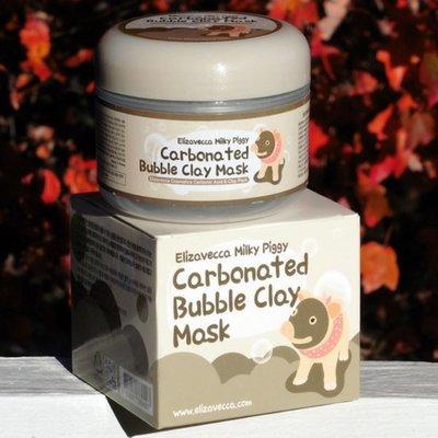 Глиняная кислородная маска Elizavecca Milky Piggy Carbonated Bubble Clay Mask (100 мл)