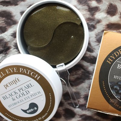 Патчи под глаза Black Pearl Gold Hydrogel Eye Patch от Petitfee