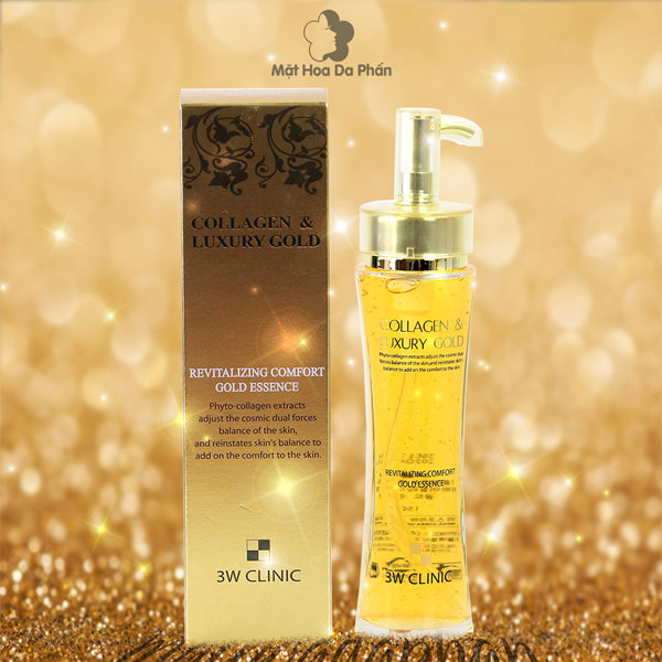 Эссенция 3W Clinic Collagen Luxury Gold Revitalizing Comfort Gold Essence