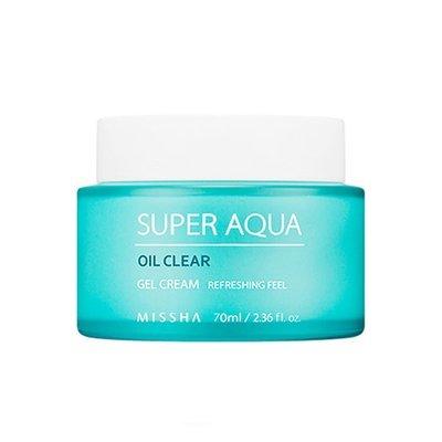 Увлажняющий гель-крем с гамаммелисом и морскими водорослями Missha Super Aqua Oil Clear Gel