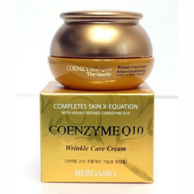 Антивозрастной крем с коэнзимом Q10 Bergamo Coenzyme Q10 Wrinkle care Cream