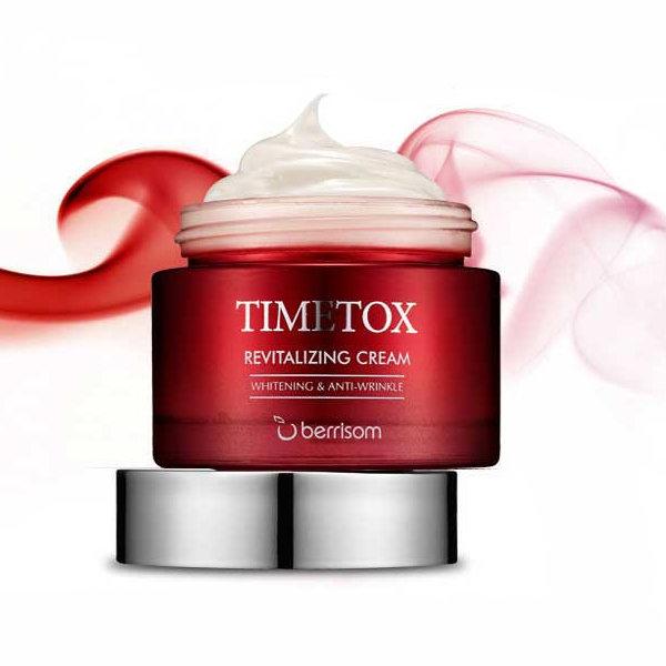 Крем для лица антивозрастной Berrisom Timetox Revitalizing Cream 50 гр
