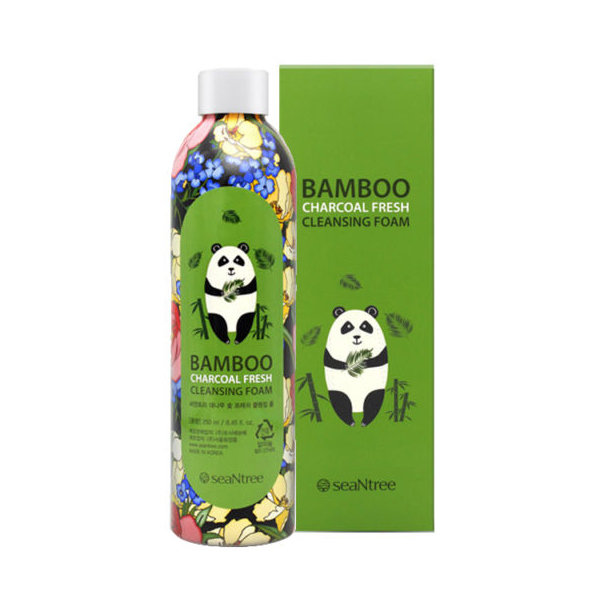 Пенка с бамбуком SeaNtree Bamboo Charcoal Fresh Cleansing Foam (250 мл)