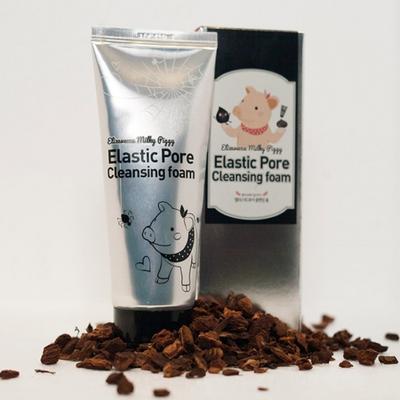 Черная пенка-маска для умывания Milky Piggy Elastic Pore Cleansing Foam (120 мл)