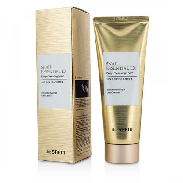 Пенка для умывания Snail Essential EX Wrinkle Solution Deep Cleansing Foam 150 гр