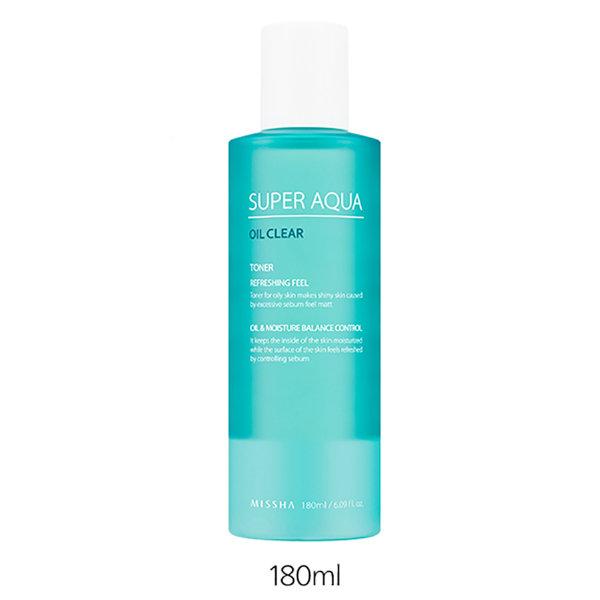 Тоник для жирной кожи Missha Super Aqua Oil Clear Toner (180 мл)