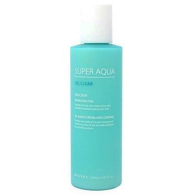 Эмульсия для жирной кожи с гамаммелисом и морскими водорослями Missha Super Aqua Oil Clear (150 мл)