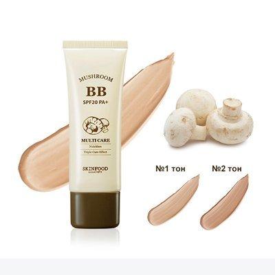 BB-крем с экстрактом грибов Skinfood Mushroom Multi Care BB Cream SPF20 PA+ №2