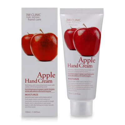 Крем для рук 3W Clinic Apple Hand Cream (100 мл)