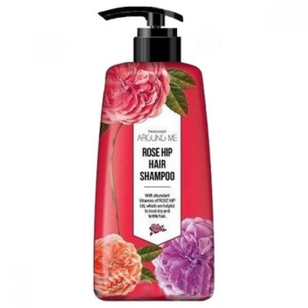 Шампунь для волос Around me Rose Hip Hair Shampoo (500 мл)