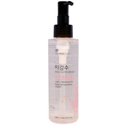 Масло гидрофильное для жирной кожи The Face Shop Rice Water Bright Light Cleansing Oil (150 мл)