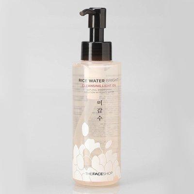 Масло гидрофильное для сухой и нормальной кожи The Face Shop Rice Water Bright Cleansing Light Oil (150 мл)