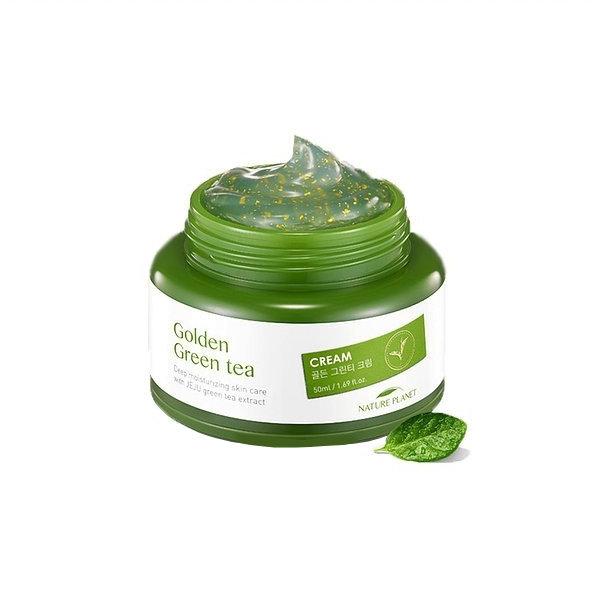 Крем для лица с зеленым чаем Scinic Golden Green Tea Cream (50 мл)
