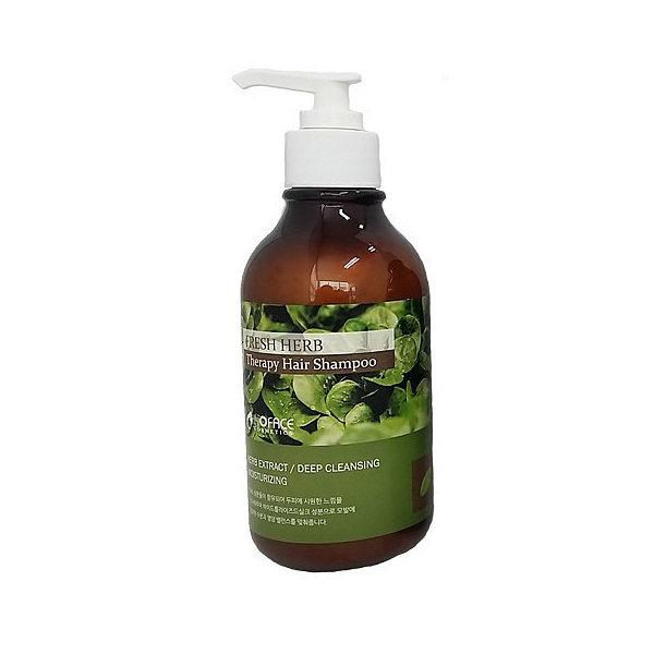 Шампунь для волос с настоем целебных трав Inoface Fresh herb Shampoo (300 мл)