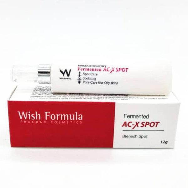 Ферментированный крем от угревой сыпи Wish Formula Fermented AC-X Spot (12 г)