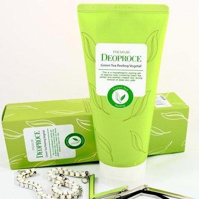 Пилинг скатка с экстрактом зелёного чая Deoproce Green Tea Peeling Vegetal (170 мл)