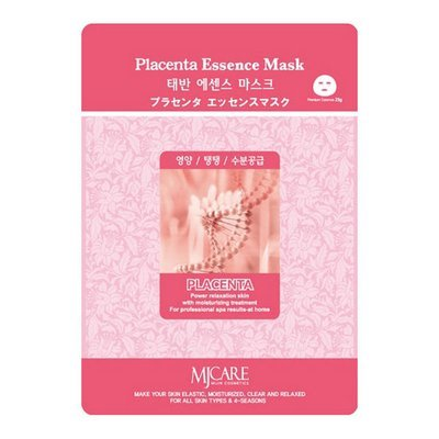Маска тканевая плацентарная Mijin Placenta Essence Mask  23 гр