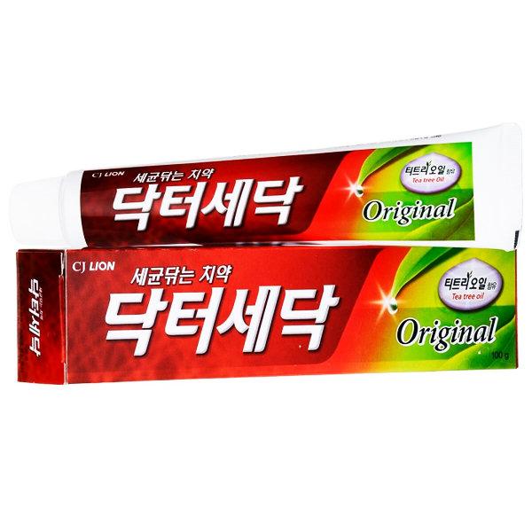 Противовоспалительная зубная паста c маслом чайного дерева CJ Lion New Dr. Sedoc Toothpaste Original (100 г)