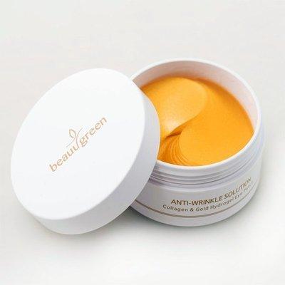 Омолаживающие патчи вокруг глаз c коллагеном и коллоидным золотом BeauuGreen Collagen Gold Hydrogel Eye Patch (60 шт)