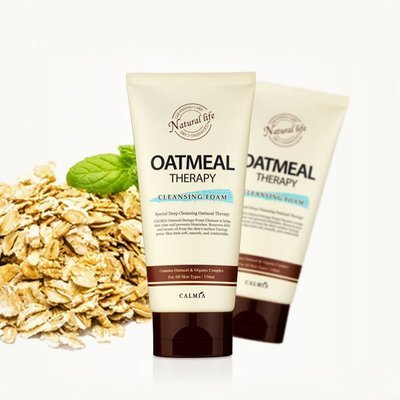 Овсянная пенка для умывания Calmia Oatmeal Therapy Cleansing Foam (150 мл)