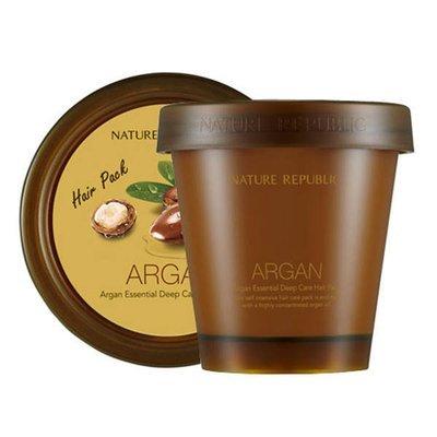 Маска для волос восстанавливающая Nature Republic Argan Essencial Deep Care Hair Pack