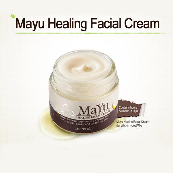 Питательный крем для лица Secret Key MaYu Healing Facial Cream (70 мл)