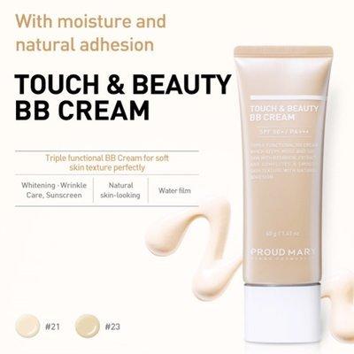 Увлажняющий антивозрастной BB крем Proud Mary Touch Beauty BB Cream SPF50/PA+++ №23 (40 мл)