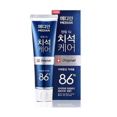 Зубная паста для удаления налета со вкусом цитрусовой мяты Amore pacific Median 86% Toothpaste Original